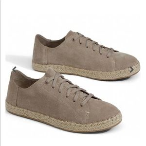 Women Lena Desert Taupe Suede Toms size 7